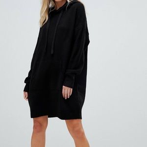Micha Lounge relaxed hooded sweater dress